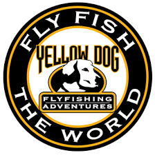 yellow dog fly fishing logo